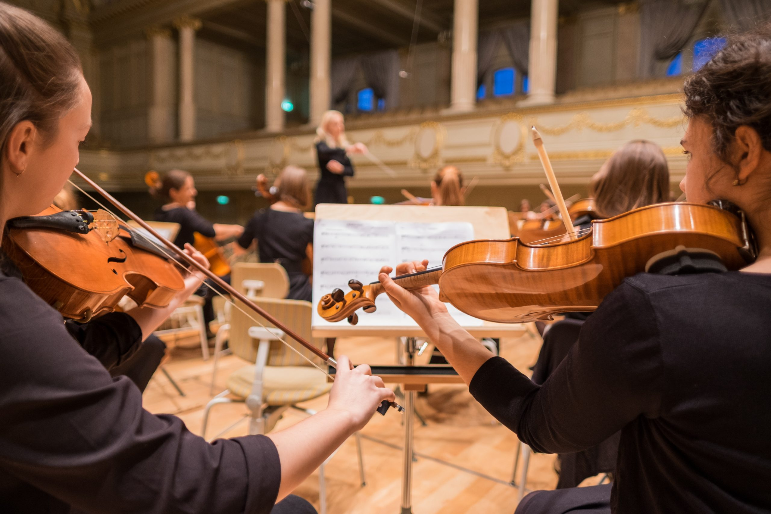 Du är dirigenten i din orkester