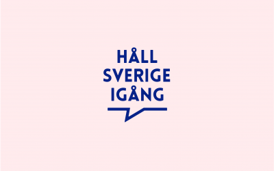 Håll Sverige igång ett viktigt initiativ i coronapandemin